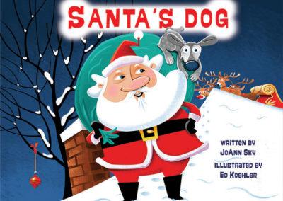 Santa's Dog Cover