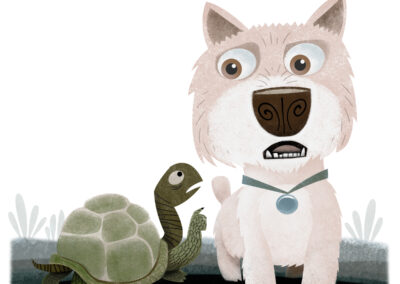 Turtle and Terrier