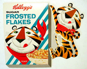 Tony the Tiger © Kellog Cereal