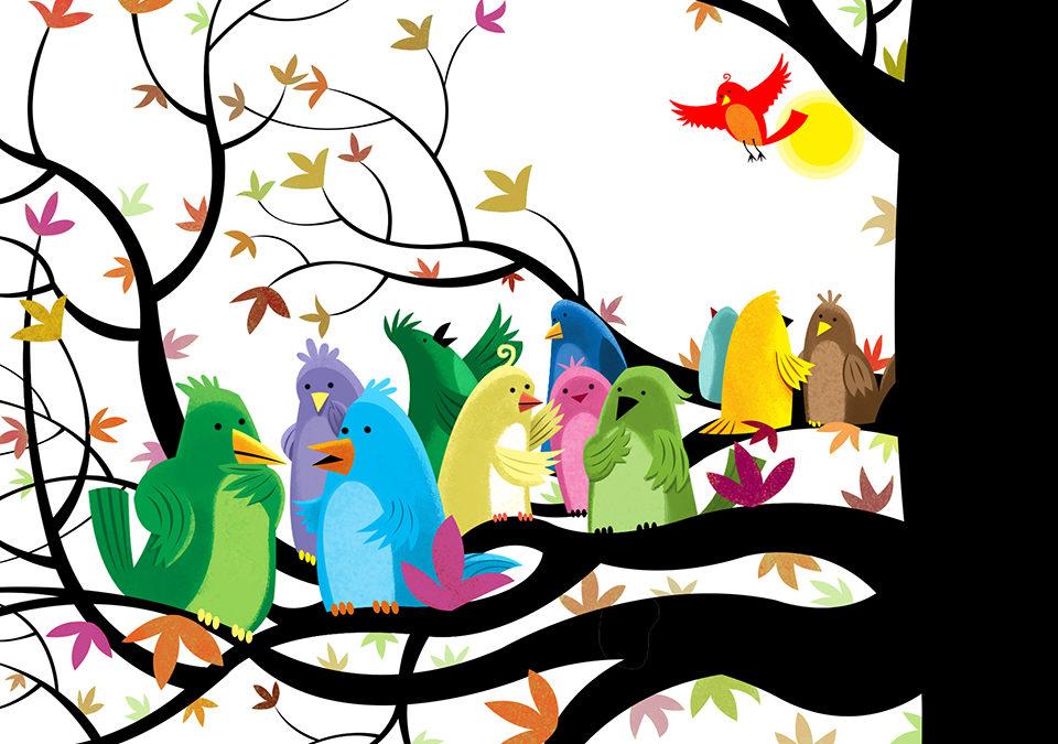 Autumn and Birds and Feet